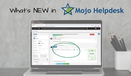 Mojo Helpdesk software update