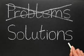 No More Problems Only Solutions
