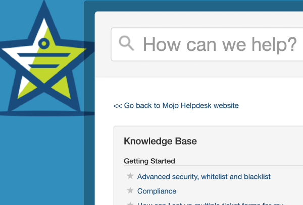 Knowledge-base settings screenshot